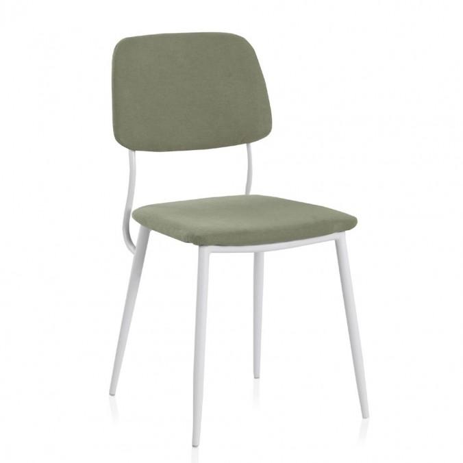 Pack 4 sillas de estilo contemporaneo verde