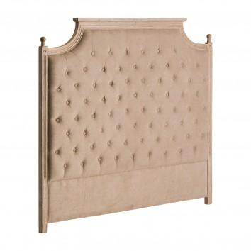 Cabezal estilo provenzal 160x140cm madera de pino