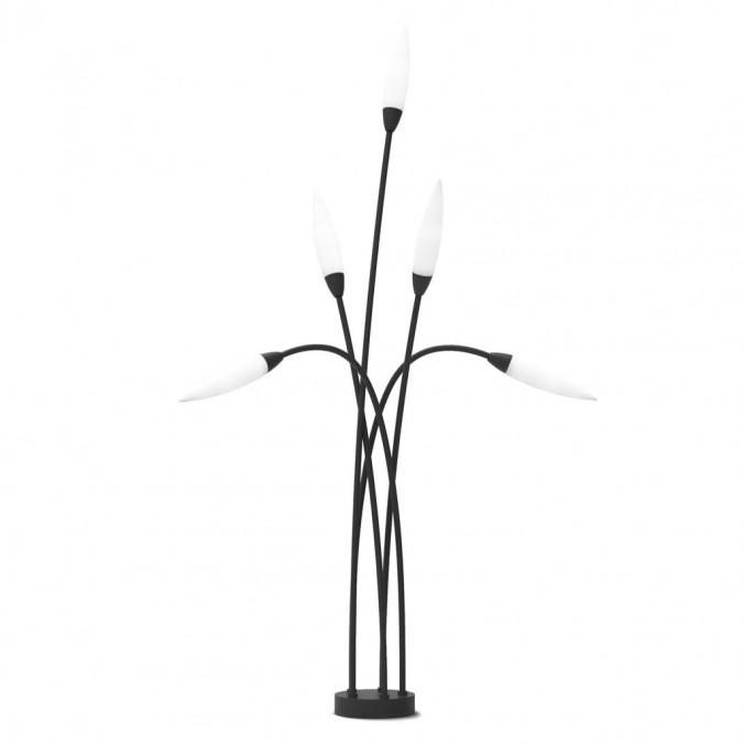 Lámpara pie de exterior 113cm 5L serie Espiga