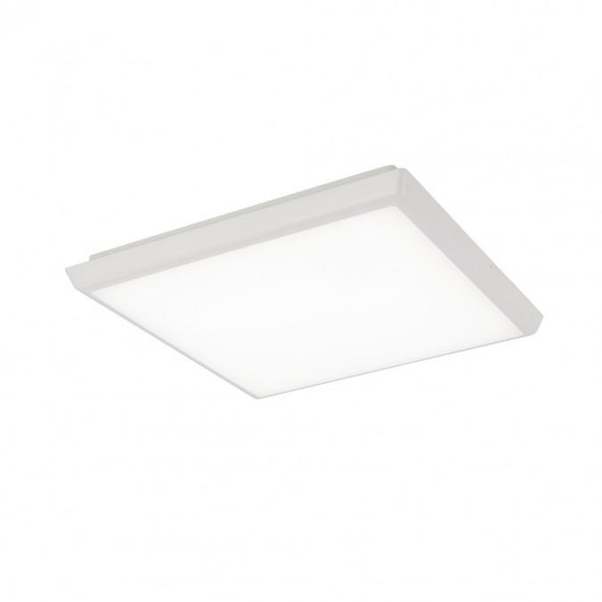 Plafón de techo LED cuadrado 30cm IP65