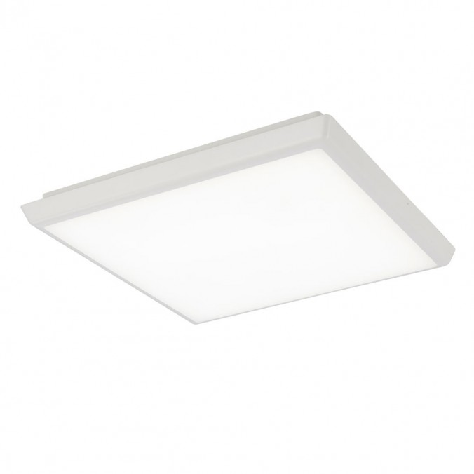 Plafón de techo LED cuadrado 40cm IP65