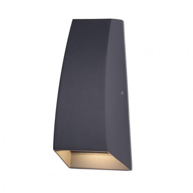 Aplique pared exterior LED serie Jackson gris