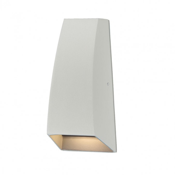 Aplique pared exterior LED serie Jackson blanco