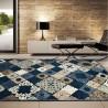 Alfombra SCARPA mosaico tonos tostados - varios tamaños