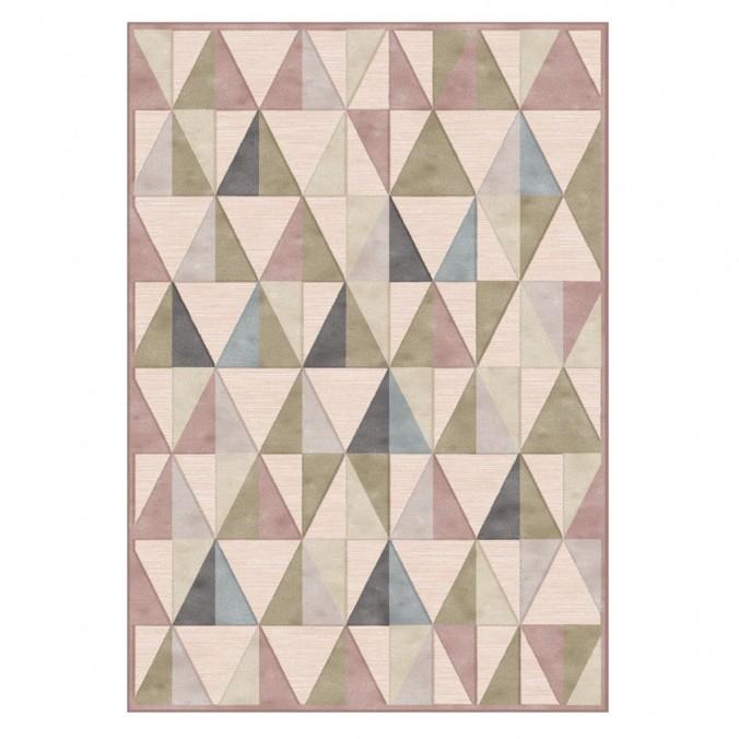Alfombra PROVENCE trama triángulos I - varios tamaños