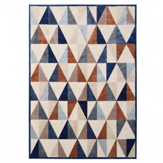 Alfombra PROVENCE trama triángulos II - varios tamaños