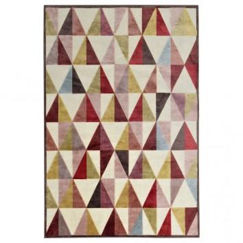 Alfombra PROVENCE trama triángulos III - varios tamaños