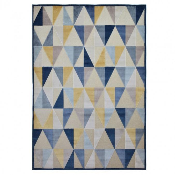 Alfombra PROVENCE trama triángulos IV - varios tamaños