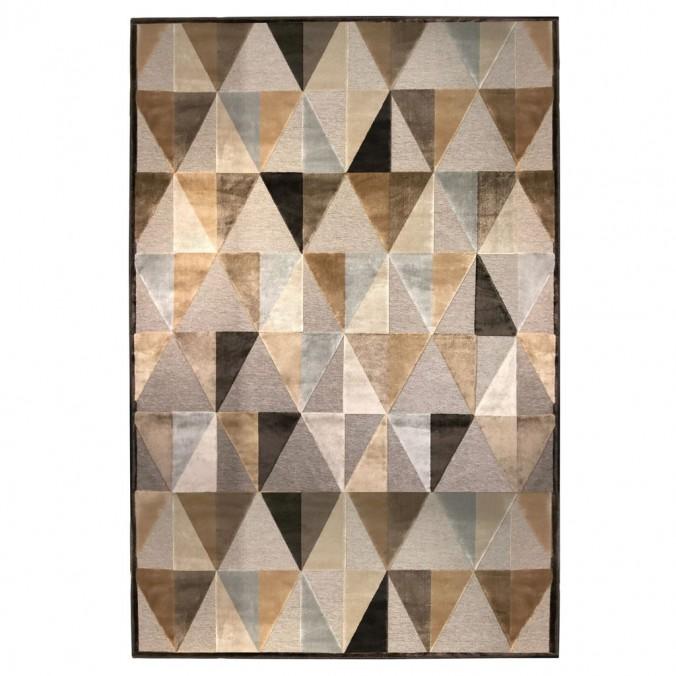 Alfombra PROVENCE trama triángulos V - varios tamaños