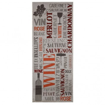 Alfombra 80x200cm interior-exterior KITCHEN WINE I