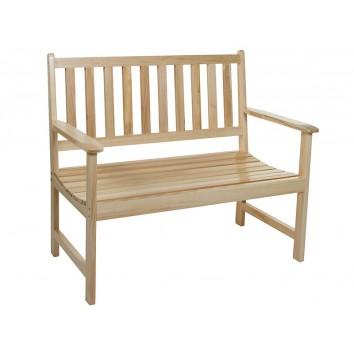 Banco de madera de álamo - 113x63x99h