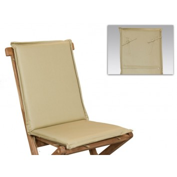 Cojín para silla tono crema