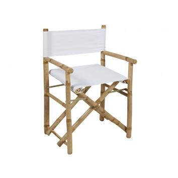 Silla director bambú - 58x45x89h