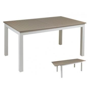 Mesa de jardín extensible - 151x89x75h