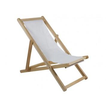 Sillón de jardín reclinable - 63x111x93h