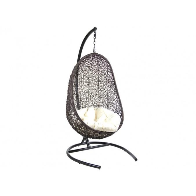 Canasto negro cojín blanco - 100x100x196h