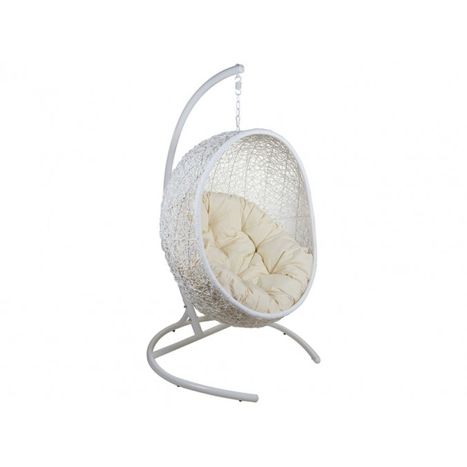 Canasto balancin blanco - 95x95x176h