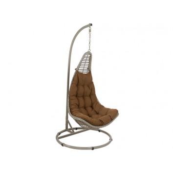 Canasto balancín marrón - 98x98x205h