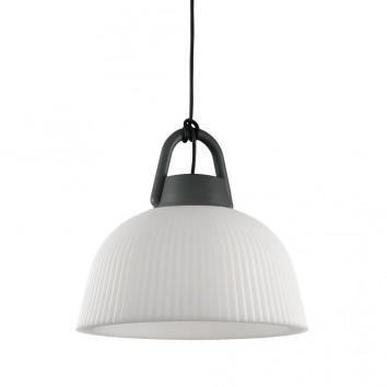 Lámpara colgante de exterior 37cm serie Kinké