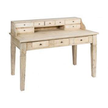 Escritorio madera de estilo vintage - 135x75x100h