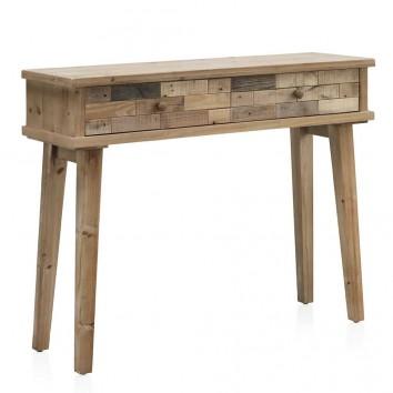 Consola estilo vintage 100x30x78h madera reciclada