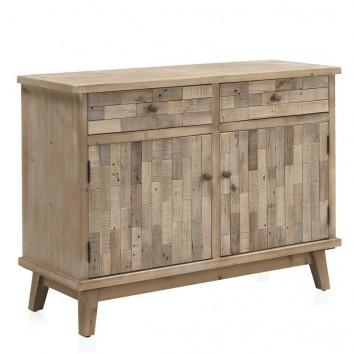 Aparador estilo vintage 120x40x76h madera reciclada