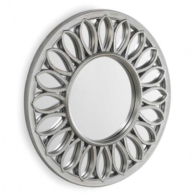 Espejo de diseño clásico con marco 81x3,3cm