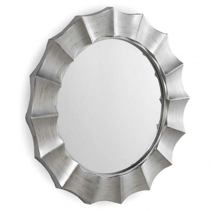 Espejo diseño con marco redondo 105x5,4cm