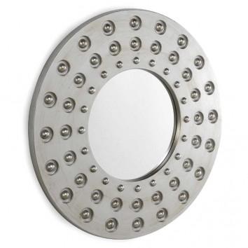 Espejo diseño con marco redondo 81x3,3cm