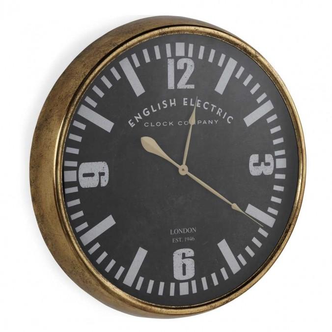 Reloj pared 80cm de estilo retro