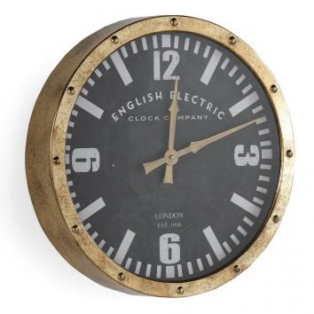 Reloj pared 40cm de estilo retro industrial