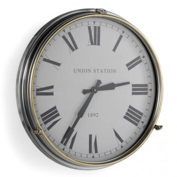 Reloj pared 54cm de estilo vintage