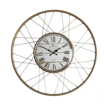 Reloj de pared estilo industrial  - 65x6x65h