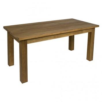 Mesa comedor estilo rústico madera de teca - 180x90x78h