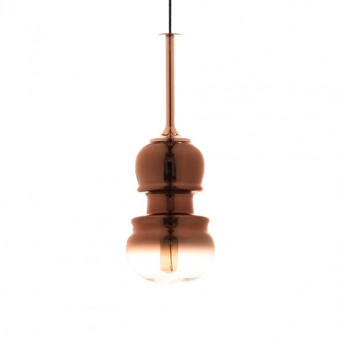 Lámpara colgante Sonata cobre 15cm