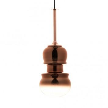 Lámpara colgante Sonata cobre 22cm