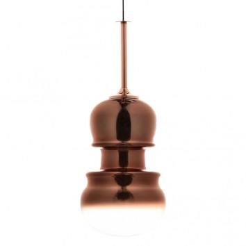Lámpara colgante Sonata cobre 29cm