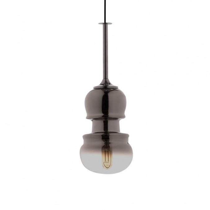 Lámpara colgante Sonata grafito 15cm