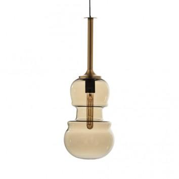 Lámpara colgante Sonata bronce 22cm