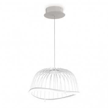 Lámpara techo LED serie CELESTE blanco 41cm