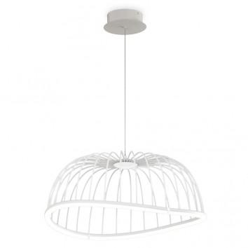 Lámpara techo LED serie CELESTE blanco 61cm