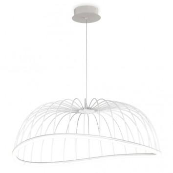 Lámpara techo LED serie CELESTE blanco 81cm