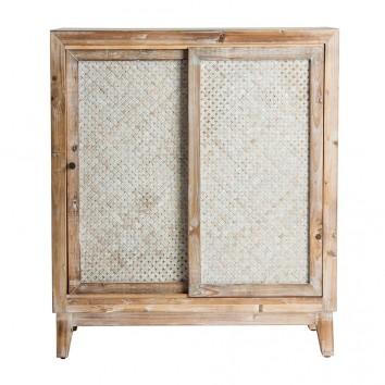 Armario estilo colonial madera abeto - 80x36x91h