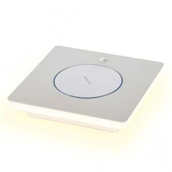 Lámpara mesa LED con cargador movil inducción