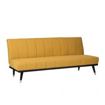 Sofá cama click-clack MOSTAZA 181x83x82h
