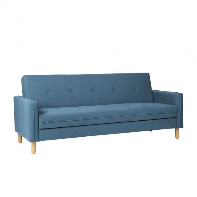 Sofá cama click-clack Nordic BLUE 201x84x84h