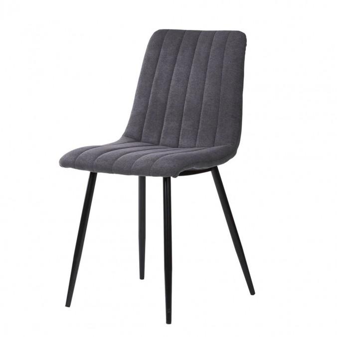 Silla XENA grey dark - 45x56x86h