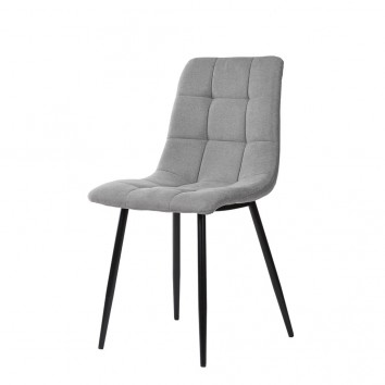 Silla diseño contemporáneo grey light - 45x56x86h
