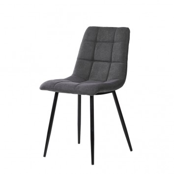 Silla diseño contemporáneo grey dark - 45x56x86h