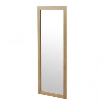 Espejo de pie o pared estilo nórdico 60x150cm en abedul